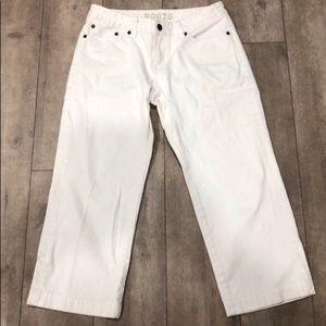 Roots cropped denim pants